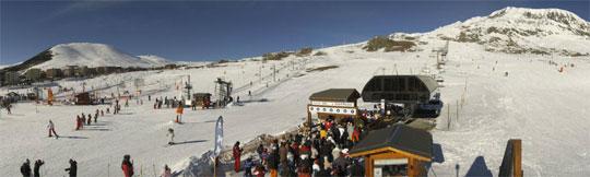 webcam alped'huez station et front de neige