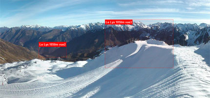 webcam cauterets cirque du lys