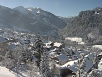 webcam chatel station ski