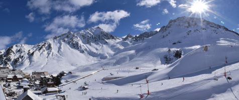 webcam la mongie ski