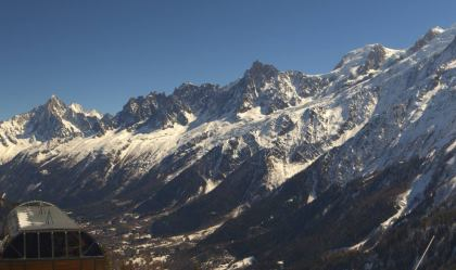 webcam les houches prarion
