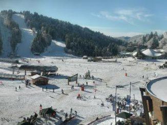 webcam lioran station ski