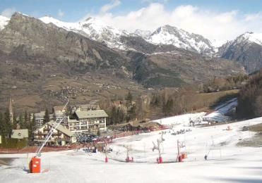 webcam saint léger les melezes ski